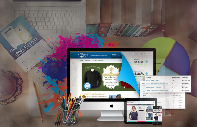 panpic web ecommerce design